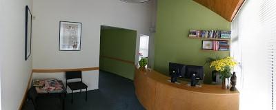 Dr Vitalis reception area